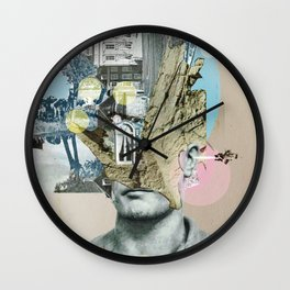 it´s all in your mind · Statue Wall Clock