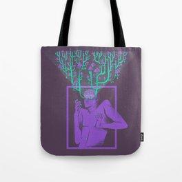 Hallucination garden Tote Bag