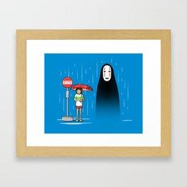My Lonely Neighbor Framed Art Print