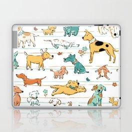 Dogs Dogs Dogs Laptop & iPad Skin