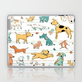 Dogs Dogs Dogs Laptop & iPad Skin