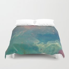 Space fall Duvet Cover