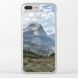 Catching a View from Going to the Sun Road Clear iPhone Case