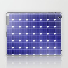 In charge / 3D render of solar panel texture Laptop & iPad Skin