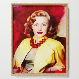 Gloria Grahame, Vintage Actress Serving Tray