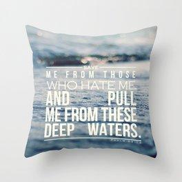Save me Throw Pillow