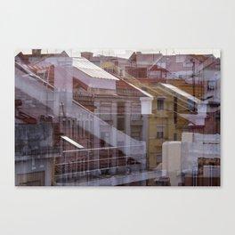 Deconstruction #21 Canvas Print