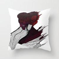 roman Throw Pillows featuring roman godfrey by mayra