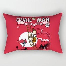 The Dark Quail Rectangular Pillow