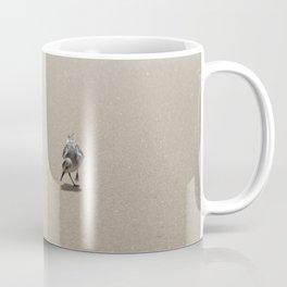 Sandpiper bird on wet sand Coffee Mug