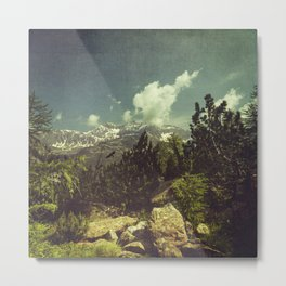 Italian Mountains Metal Print