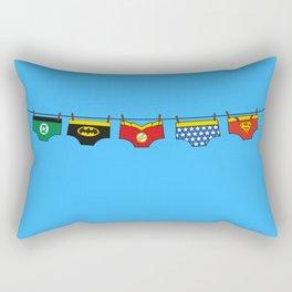 Superheroes real life Rectangular Pillow