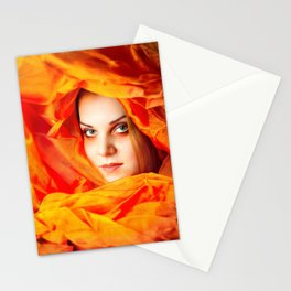 Colour: Red Stationery Cards