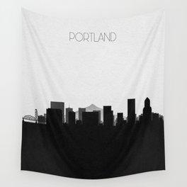 City Skylines: Portland Wall Tapestry