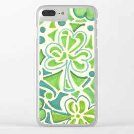 Saint Patrick day 20192 Clear iPhone Case
