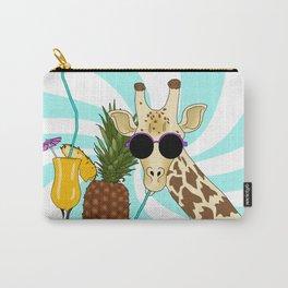 Drunk Giraffe  Carry-All Pouch