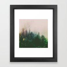 Fractions A71 Framed Art Print