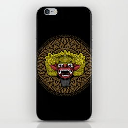 balinese barong iPhone Skin