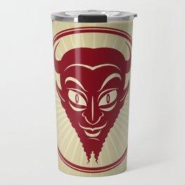 The Devil Face Travel Mug