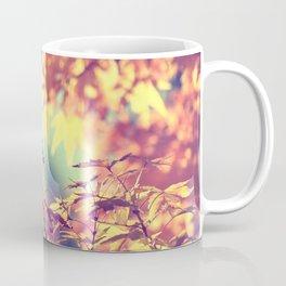 SUBTLE MAPLE - AUTUMN TEAL Coffee Mug