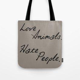 Love Animals Tote Bag