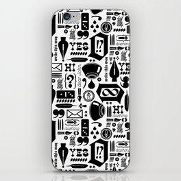 Write This Way Pattern iPhone Skin