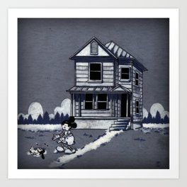 Who left this here? Art Print