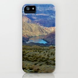 Lake Mead Mountain View iPhone Case