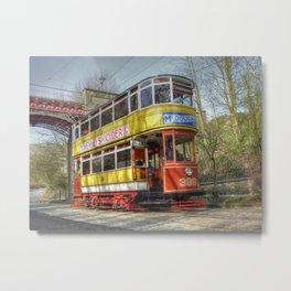 Leeds Tram 399 Metal Print