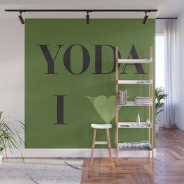 I heart Yoda Wall Mural