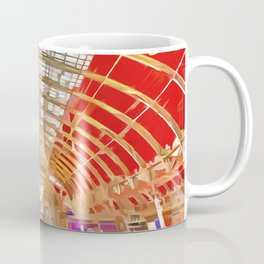 Paddington Railway Station Pop Art Coffee Mug