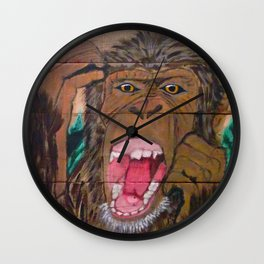 Scream if You Dare Wall Clock