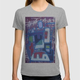 PERRO ROJO DENTRO DEL PAISAJE T-shirt