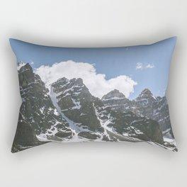 Man and Mountain Rectangular Pillow