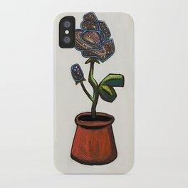 Infinity Rose iPhone Case