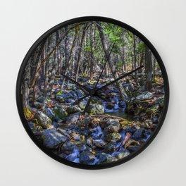 Yosemite Woodland Wall Clock