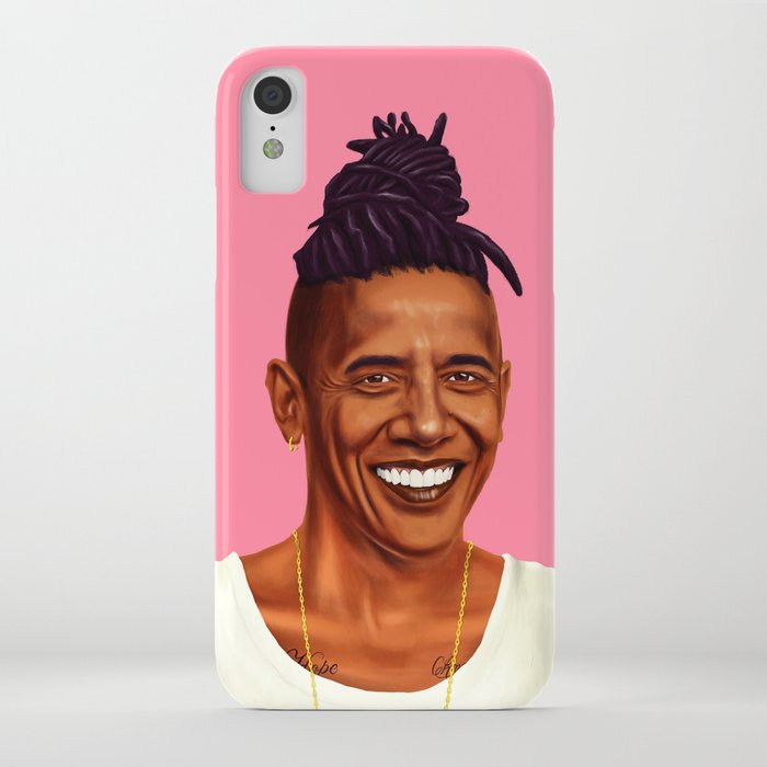 hipstory - barack obama iphone case