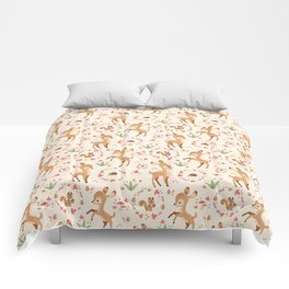 forest animals pattern Comforters