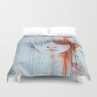 persona Duvet Covers featuring Persona sin fin by DizzyNicky