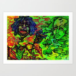 Fun Times with Mary Jane 4 Art Print