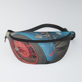 red car antique wheel Fanny Pack