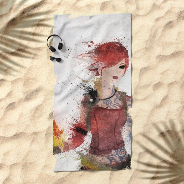 Lilith Beach Towel