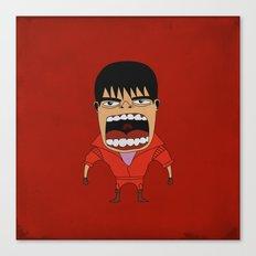 Screaming Kaneda Canvas Print