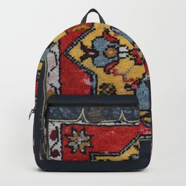 Antique Carpet Sadle Bag Backpack