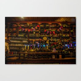 Old Irish Pub Canvas Print