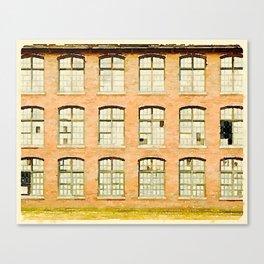 Factory, Maine Canvas Print