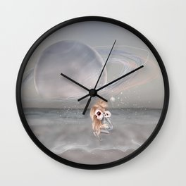 How did I get here, how can I go home. Wall Clock