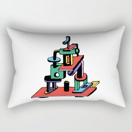 stack piece Rectangular Pillow