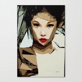 Female Expressions XLVIX Canvas Print