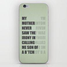 Son of a B*TCH iPhone & iPod Skin